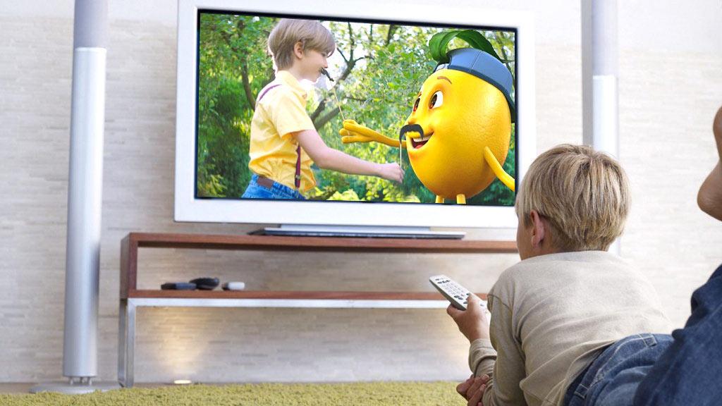 """Рекламная компания для ТМ """"Живчик"""" на телевидении © Креативное агентство KENGURU"""