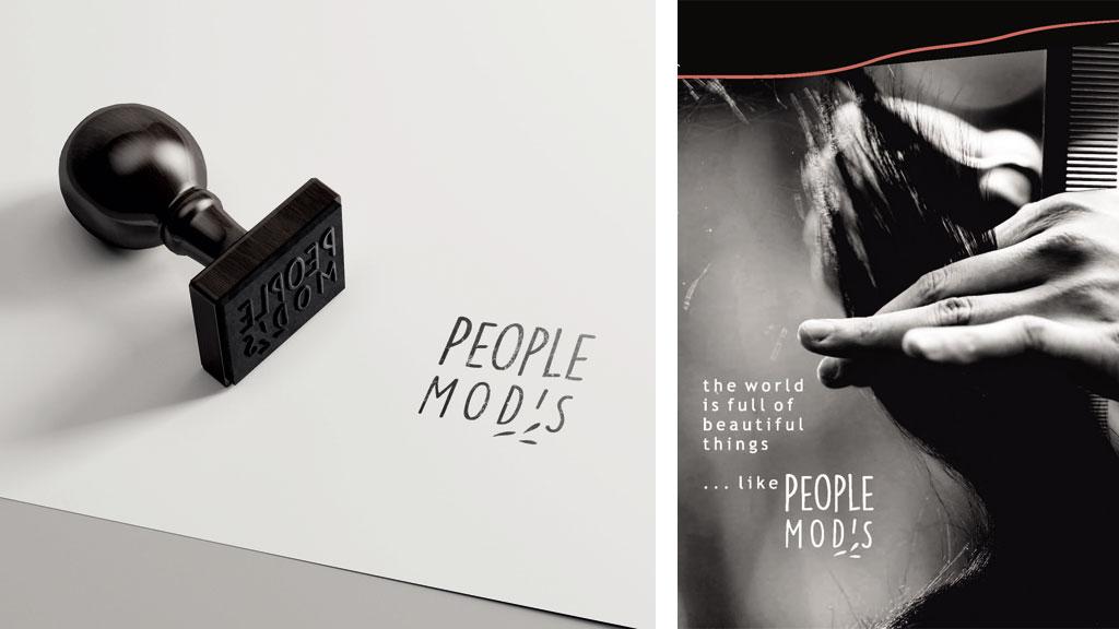People Mod's logo stamp