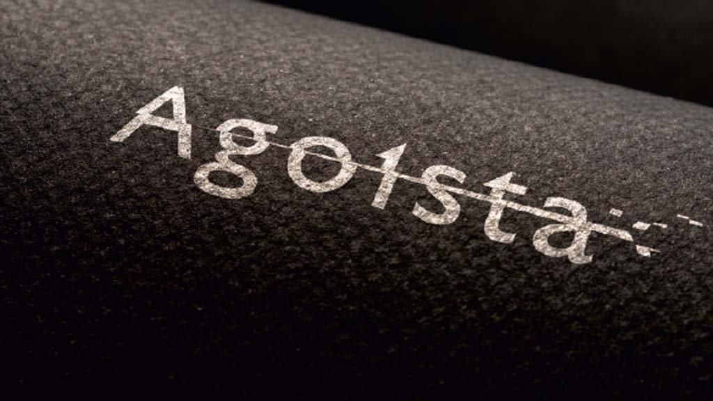 Agoista b/w logo
