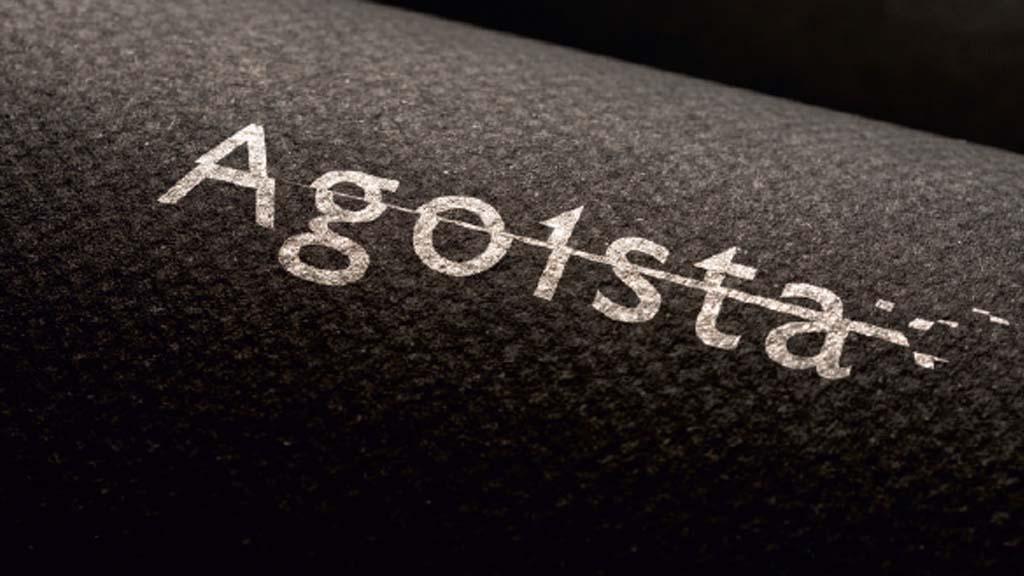 Agoista нанесение логотипа