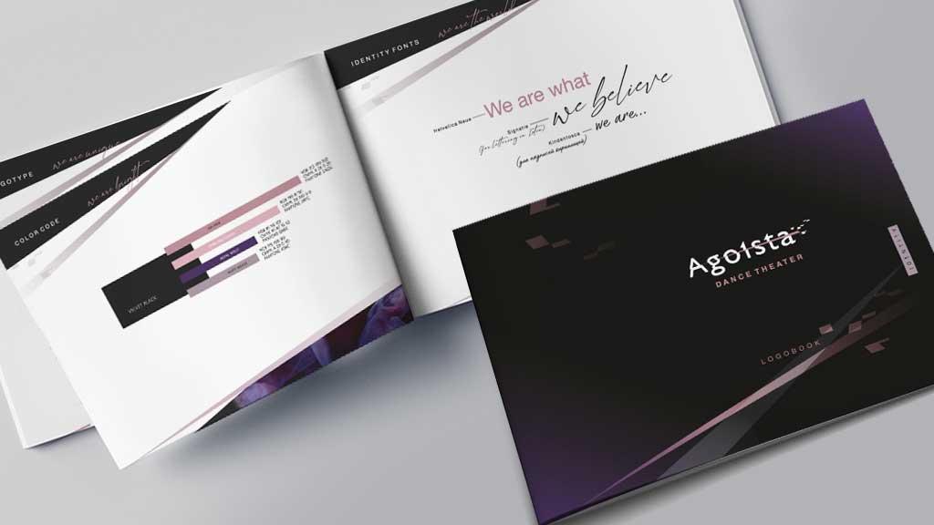 визуализация брендбука Agoista