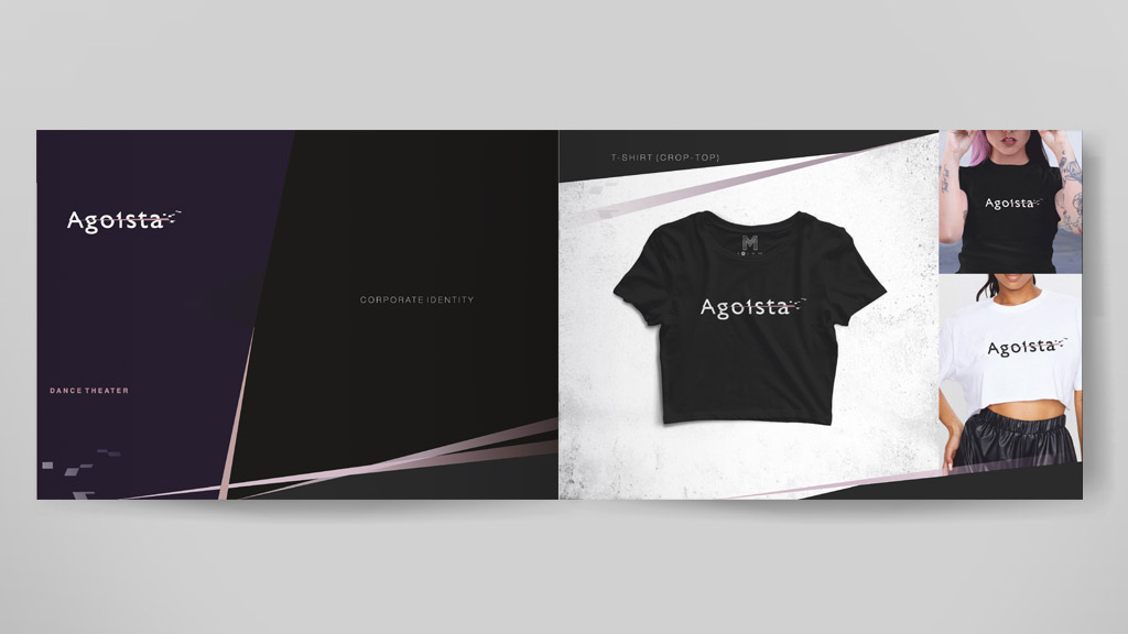 Agoista cloth branding pages