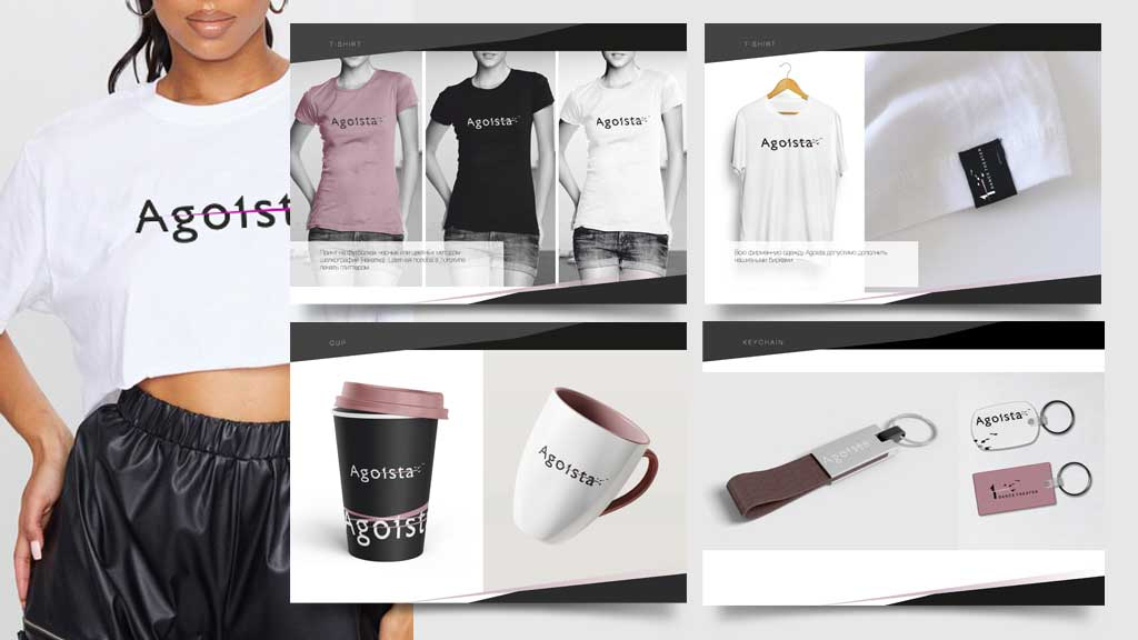 Agoista brand book development