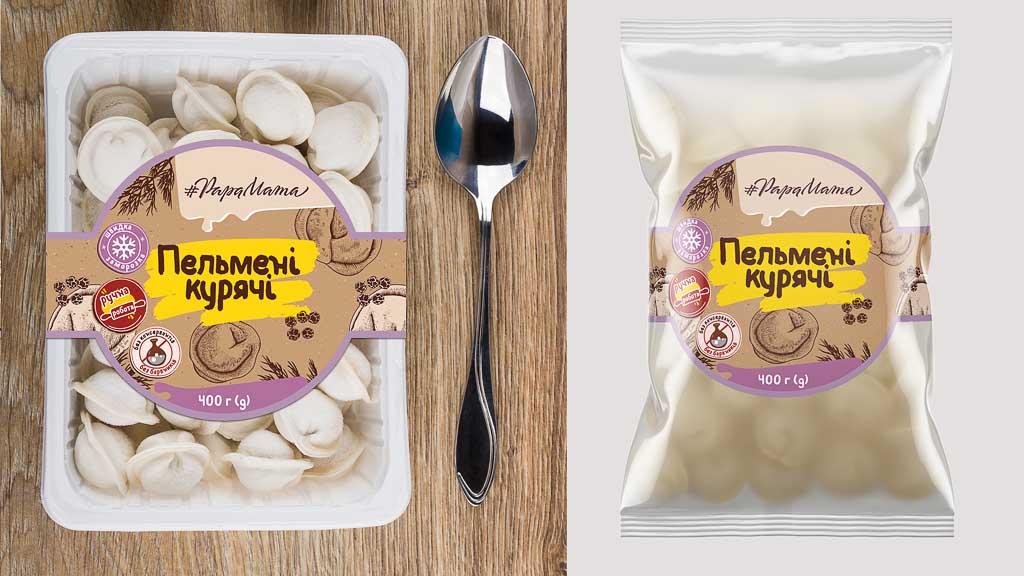 PapaMama label design concept